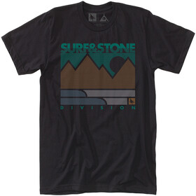 Hippy Tree Linework - T-shirt manches courtes Homme - noir
